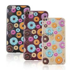 Phone Back Cover TPU Shiny Circle Biscuit Case Cover for iphone 6/6S Beige