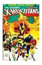 Marvel and DC Present Featuring The Uncanny X-Men and The New Teen Titans #1...