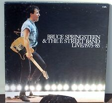 USED M- 5 12″ LPs Box Set Bruce Springsteen & The E Street Band Live/1975-85 ...
