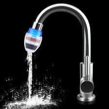 Alloy Chromed Hot/Cold Mixer Water Tap Basin Wash Faucet + Tap Water Filter Hot