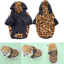 Pet Dog Clothes Jacket Hoodie Costume Coat Puppy Cat Costumes Apparel Winter NEW