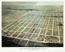 Old Map Egg Harbor City New Jersey 1865 Atlantic County 18x24 24x36 36x54 Poster