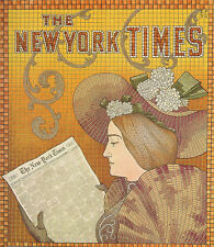 Vintage repro New York Times Advertisement 1895 1800's 18x24 24x36 NEW Poster