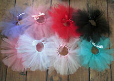 Newborn-3 mos photo prop Tutu~Your Color~Photographer's tie back~US Seller