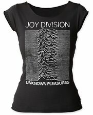 """Joy Division """"Unknown Pleasures Distressed"""" Women's Cut T-Shirt - FREE SHIPPING"""