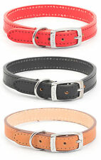 Ancol Heritage Leather Dog Collars & Leads All Sizes Multi Colour