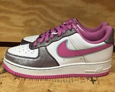 NIKE WOMENS AIR FORCE 1 LOW WHITE ROSE PURPLE WMNS SZ 8-10  315115-161 L