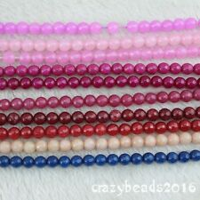 """6mm Faceted Round Mixed Color Jasper Gemstone Loose Beads Jewelry Making 15"""""""