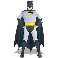 Batman Muscle Chest Child Halloween Costume, Children Boy, Superhero Biceps