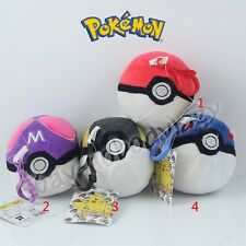 Pokemon Pokeball Poke Ball 7.5cm/3'' PVC Buckle Pendant Soft Plush Doll Toy