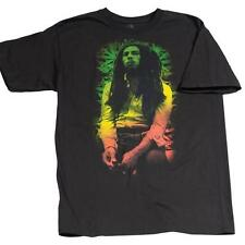 BOB MARLEY RASTA LEAVES BRAND NEW OFFICIALLY LICENSED ZION ROOTSWEAR T-SHIRT