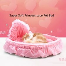 Super Soft Princess Lace Pet Dog Puppy Cat Kitten Warm Bed House Cozy Mat Pad