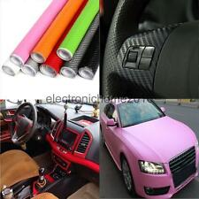 200x30cm 3D Carbon Fiber Vinyl Auto Car Wrap Roll Film Sticker DIY Useful