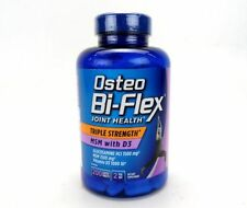 2 Bottles Osteo Bi-Flex Triple Strength Glucosamine/MSM with D3, 400 Tablets