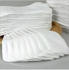 1-20Pcs Reusable Baby inserts liner for Cloth Diaper Nappy microfiber Optional —