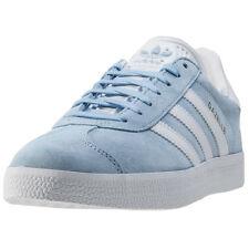 adidas Gazelle Womens Trainers Light Blue New Shoes