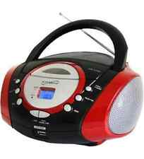 NEW Supersonic Inc SC-508RED Portable Audio System with USB Card Slot SC-508 - 1