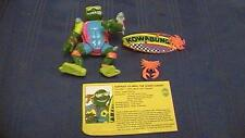 Vintage TMNT Teenage Mutant Ninja Turtles MIKE, THE SEWER SURFER 1990 With Card