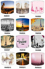 Lampshades Ideal To Match France Paris Eiffel Tower Cushions & Paris Duvets
