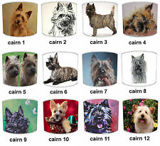 Cairn Terrier Dogs Designs Lampshades Ideal To Match Cairn Terrier Cushions