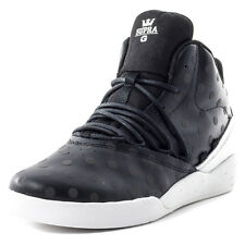 Supra Estaban Mens Trainers Black White New Shoes