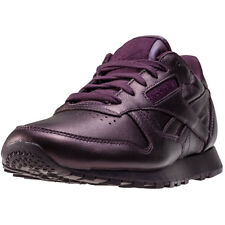 Reebok Cl Lthr X Face Stockholm Womens Trainers Burgundy New Shoes