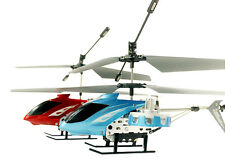 AVATAR Z008 IR 2.4G 4CH RC Remote Control Helicopter LED Light GYRO RTF Blue Red