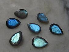 3x5mm - 13x18mm Natural Labradorite Faceted Cut Pear Top Quality Loose Gemstone