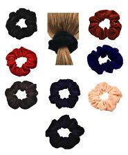 Large Velvet Scrunchies Luxurious Soft Glittery Velvet Scrunchie  Hair Bobble
