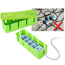 Power Safety Outlet Board Cables Strip Wire Case Storage Box Container Supplies