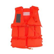 Kids Adult Swimming Life Jackets Boating Drifting Floating Vest S/M/L/XL