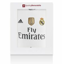 Cristiano Ronaldo Signed Real Madrid Shirt 2015/2016 - Gift Box Autograph
