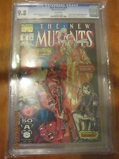 The New Mutants #98 (Feb 1991, Marvel) First Appearance of Deadpool CGC 9.8