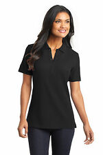 L800 Port Authority Womens Polo Shirt EZCotton Pique Polo NEW S-3XL