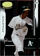 2003 (ATHLETICS) Leaf Certified Materials #138 Terrence Long