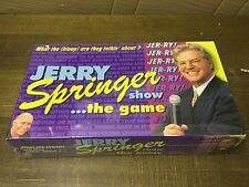 Jerry Springer Board Game ADULT Vintage Collectable & Complete NEW SEALED