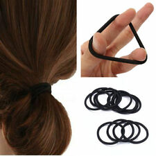 50X Girl Women Elastic Hair Tie Band Rope Ring Ponytail Holder Accessories Black