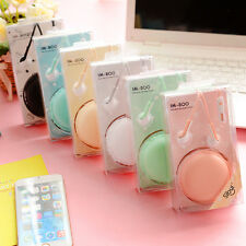 3.5mm Earbud Earphone Headset With Microphone For Mobile Phone iPhone MP3 MP4