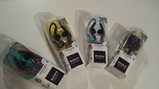 Sony Headphones MDR-AS200/BLK Earbud Ear-Clip Headphones New Active Sports