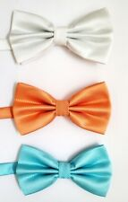 Big Boy's Polyester Bow Ties - Choose From 16 Colors