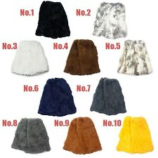 NEW 40cm 100% Real Genuine Rabbit Fur Women Leg Warmers Boots Cover color option