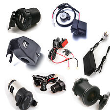 Motorcycle USB Port Charger Phone / Motorcycle Cigarette Lighter Power Socket