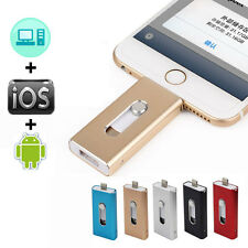 iPhone OTG 32GB 64GB Metal Pen Drive USB Flash Drive For iPhone iPad Pendrive