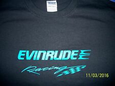 Evinrude Racing Screen Printed T-Shirt 6 oz.100% Cotton Sm-5XL