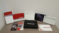 2015 Kia Sorento OEM Owners Manual w/Supplements and Case -- Fast Free Shipping
