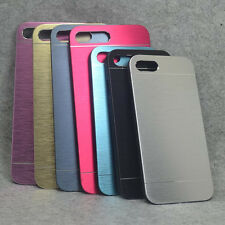 For Iphone 7 7Plus New Aluminum Brushed Metal Plate Hard case back cover