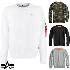 Alpha Industries Men'S Sweater X-Fit Slim Fit with Hang Tag S to 3XL