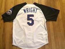 David Wright New York Mets jersey Mens XL by Majestic