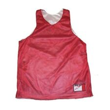 Rawlings BRTR45 Scarlet and White Basketball Jersey Adult