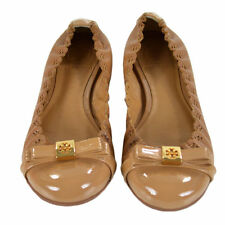NIB Auth Tory Burch Romy Patent Leather Ballet Flats